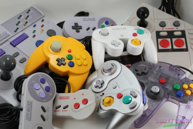 Classic Nintendo Controllers